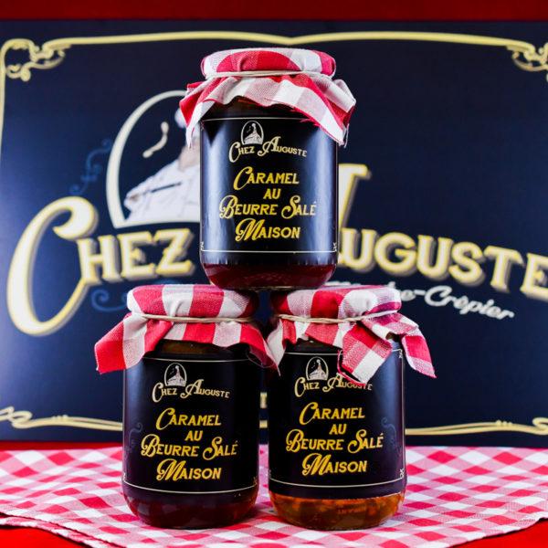 Caramel beurre salé - Chez Auguste
